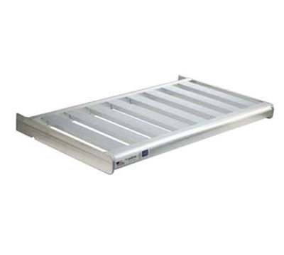 "New Age 2523 T-Bar Style Cantilevered Shelf w/ 900-lb Capacity, 18x48"", Aluminum"