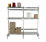 New Age 2573 27-in Right Upright for 24-in Cantilever Shelving
