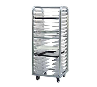 "New Age 4337 21.5""W 11-Bun Pan Rack w/ 5"" Bottom Load Slides"