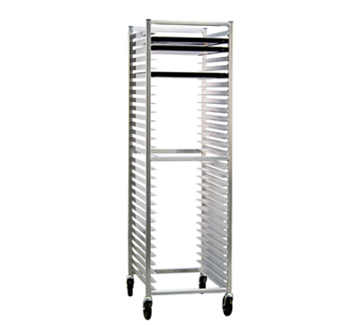 "New Age 6330 Open Full Height Pan Rack (30)18x26"" Pan Capacity Knock Down Style End Loading"