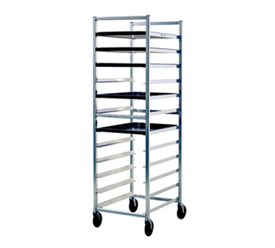 "New Age 6333 Open Full Height Pan Rack (12)18x26"" Pan Capacity Knock Down Style End Loading"