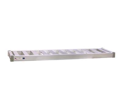 New Age 94273 Beer Keg Shelf w 3-Keg Capacity & T Bar Shelves. 3x18x60-in, Welded Aluminum
