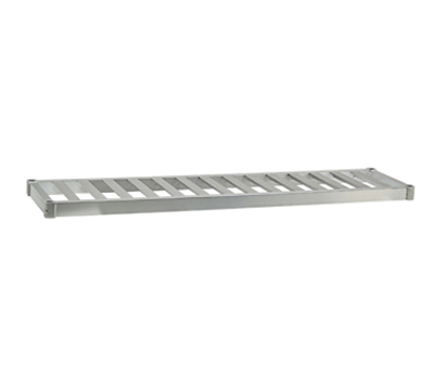 New Age 94274 Beer Keg Shelf w 4-Keg Capacity & T Bar Shelves. 3x18x80-in, Welded Aluminum