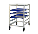 "New Age 95958 20.38""W 5-Bun Pan Rack w/ 4.5"" Bottom Load Slides"