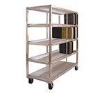 New Age 96707 4-Level Mobile Drying Rack for Trays