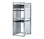"New Age 97729 51"" Insert Rack w/ Open Sides, (24)18x26"" Pan Capacity, End Loading Aluminum"