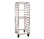 "New Age 97744 Mobile Full Height Tray Retrieval Rack w/ Open Sides & (24)15x20"" Pan Capacity"