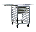 "New Age 98001 23.25"" Mixer Table w/ Aluminum Pan Slide Base & Outrigger Channels, 26""D"