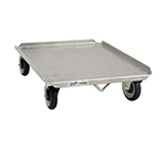 "New Age 98040 Pizza Dough Box Dolly w/ 300-lb Capacity & Holds 18x26"" Boxes, Aluminum"