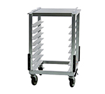 New Age 98179 Slicer Mixer Stand w/ Outrigger Channels (16)13x18-in & (8)18x26-in Pan Capacity