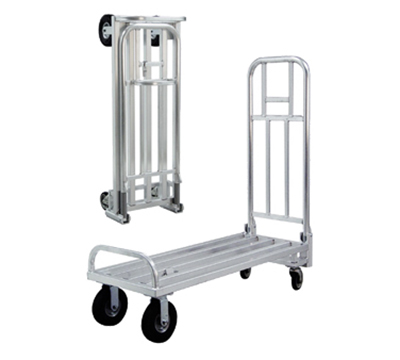 "New Age 98606 Utility Truck w/ Folding Push Handle & 800-lb Load Capacity 20x56.38"" Aluminum"