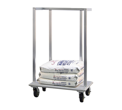 New Age 98718 Flour Sack Dolly w/ 1000-lb Capacity & Full Perimeter Bumper, 38x57.38x22""