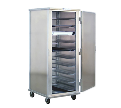 New Age 99132 Mobile Full Height Insulated Universal Pan Rack w/ Enclosed Cabinet & 13-Runners