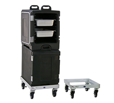"New Age 99144 Food Carrier Dolly w/ Platform Design & 5"" Casters, 8.63x17.5x23.58"""
