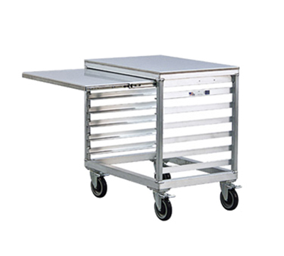 "New Age 99217 28.5"" x 30"" Mobile Equipment Stand for Slicers, Pan Slides"