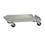 "New Age 99251 Lug Storage Dolly w/ (4)3"" Swivel Casters & 17x6x26"", Aluminum"