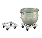New Age 99936 Mixing Bowl Dolly w/ (40)120-qt Bowl Or 800-lb Capacity, 7.6x14x14-in, Aluminum