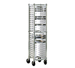 "New Age NS599A 13.375""W 26-Pizza Pan Rack w/ 2"" Bottom Load Slides"