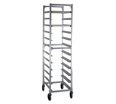 """New Age NS832 17.75""""W 12-Specialty Pan Rack w/ 5"""" Bottom Load Slides"""