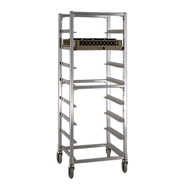 "New Age NS345 22""W 8-Specialty Pan Rack w/ 7"" Bottom Load Slides"