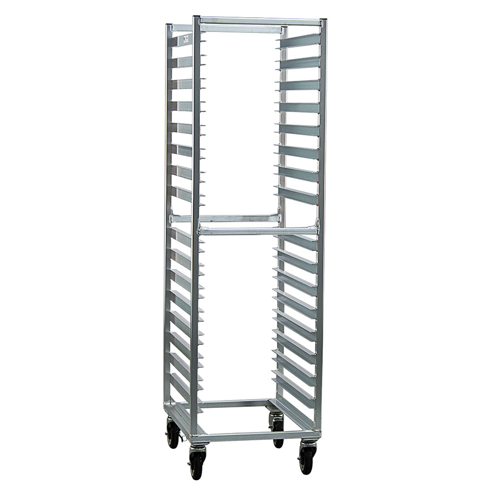 "New Age NS648 21""W 16-Specialty Pan Rack w/ 3.5"" Bottom Load Slides"