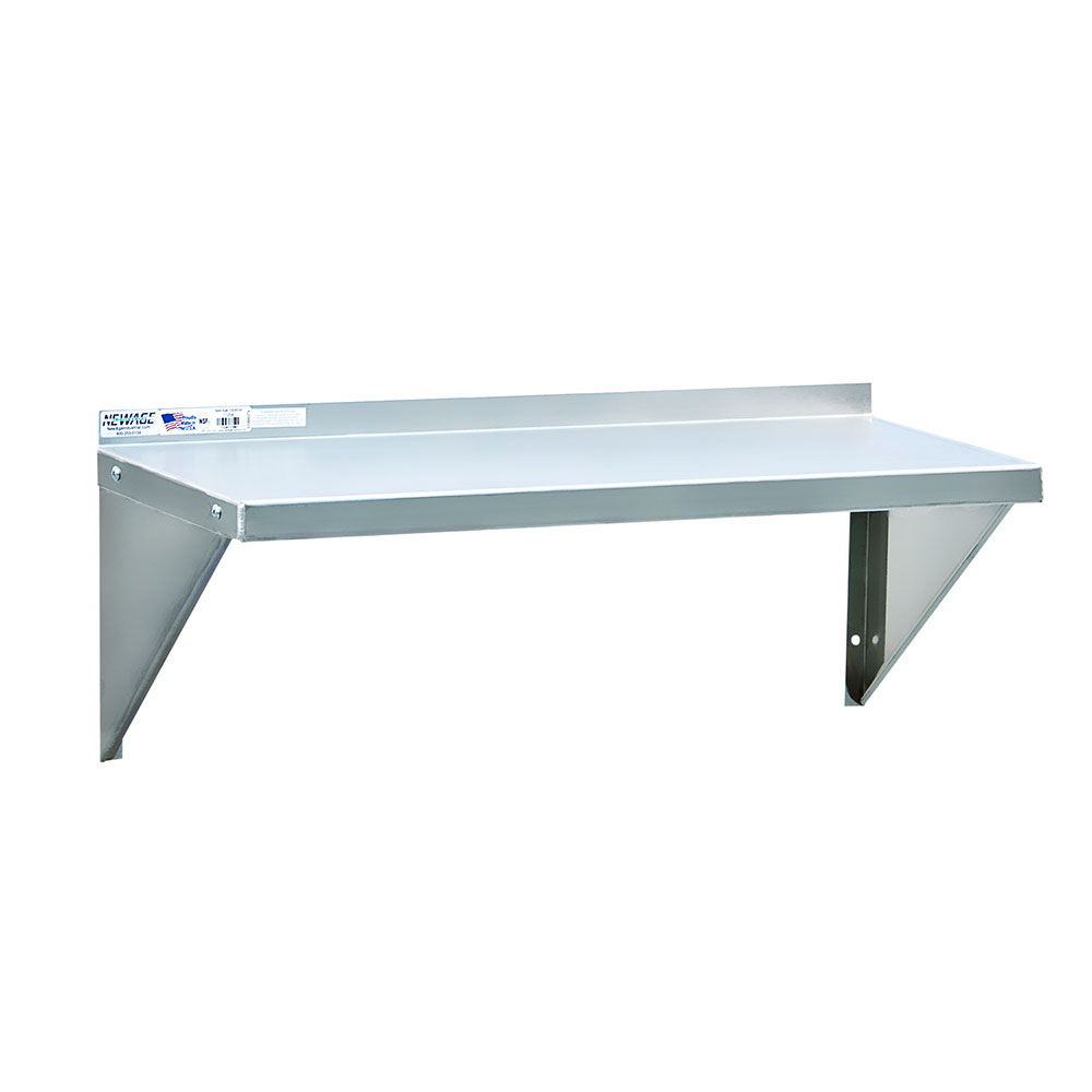 """New Age NS675 24"""" Solid Wall Mounted Shelving"""