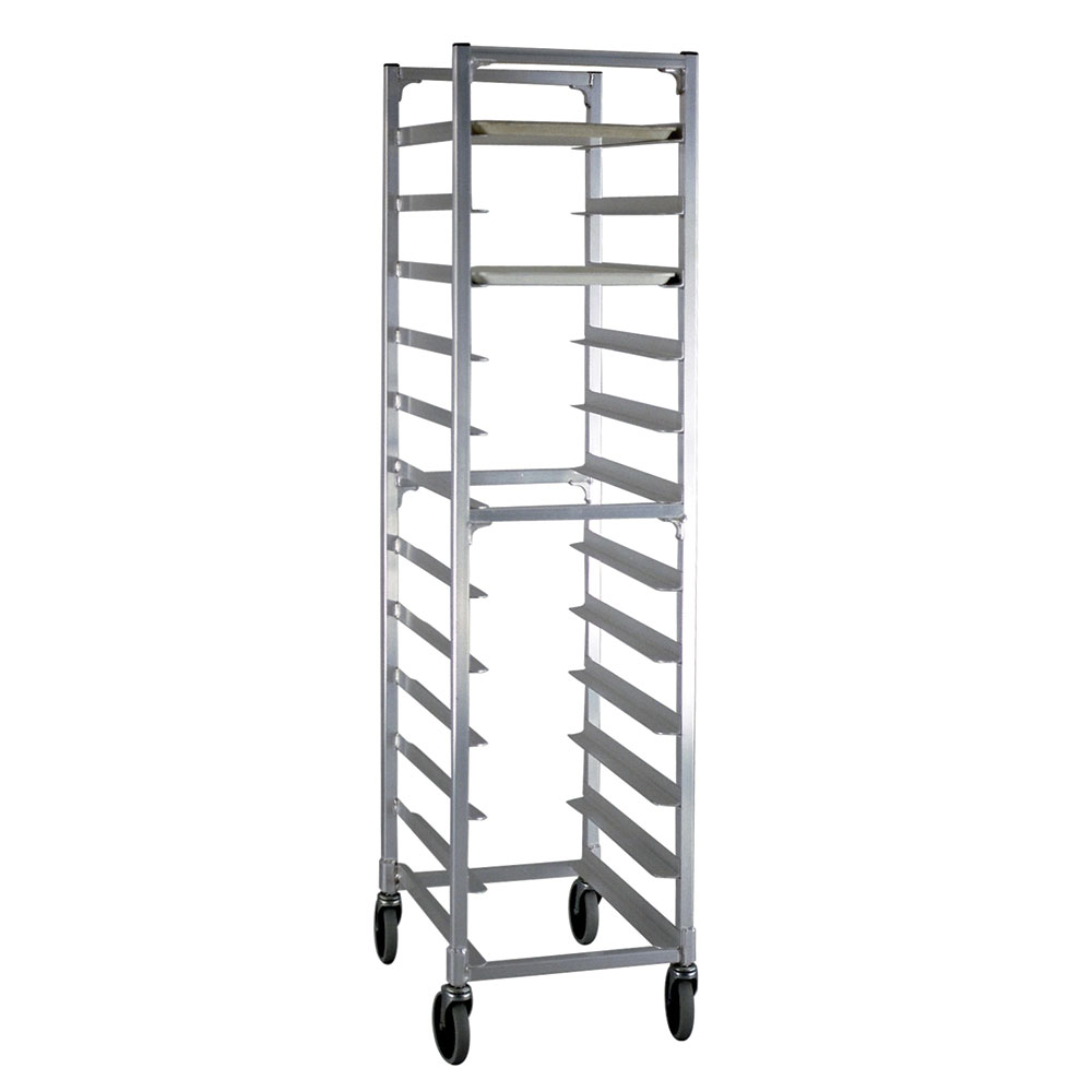 "New Age NS832 17.75""W 12-Specialty Pan Rack w/ 5"" Bottom Load Slides"