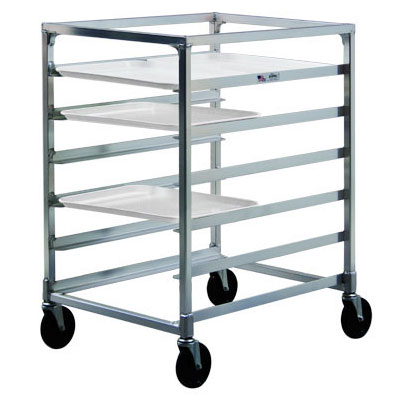 "New Age NS834 23.13""W 12-Specialty Pan Rack w/ 5"" Bottom Load Slides"