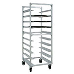 "New Age NS893 27.5""W 10-Specialty Pan Rack w/ 6"" Bottom Load Slides"