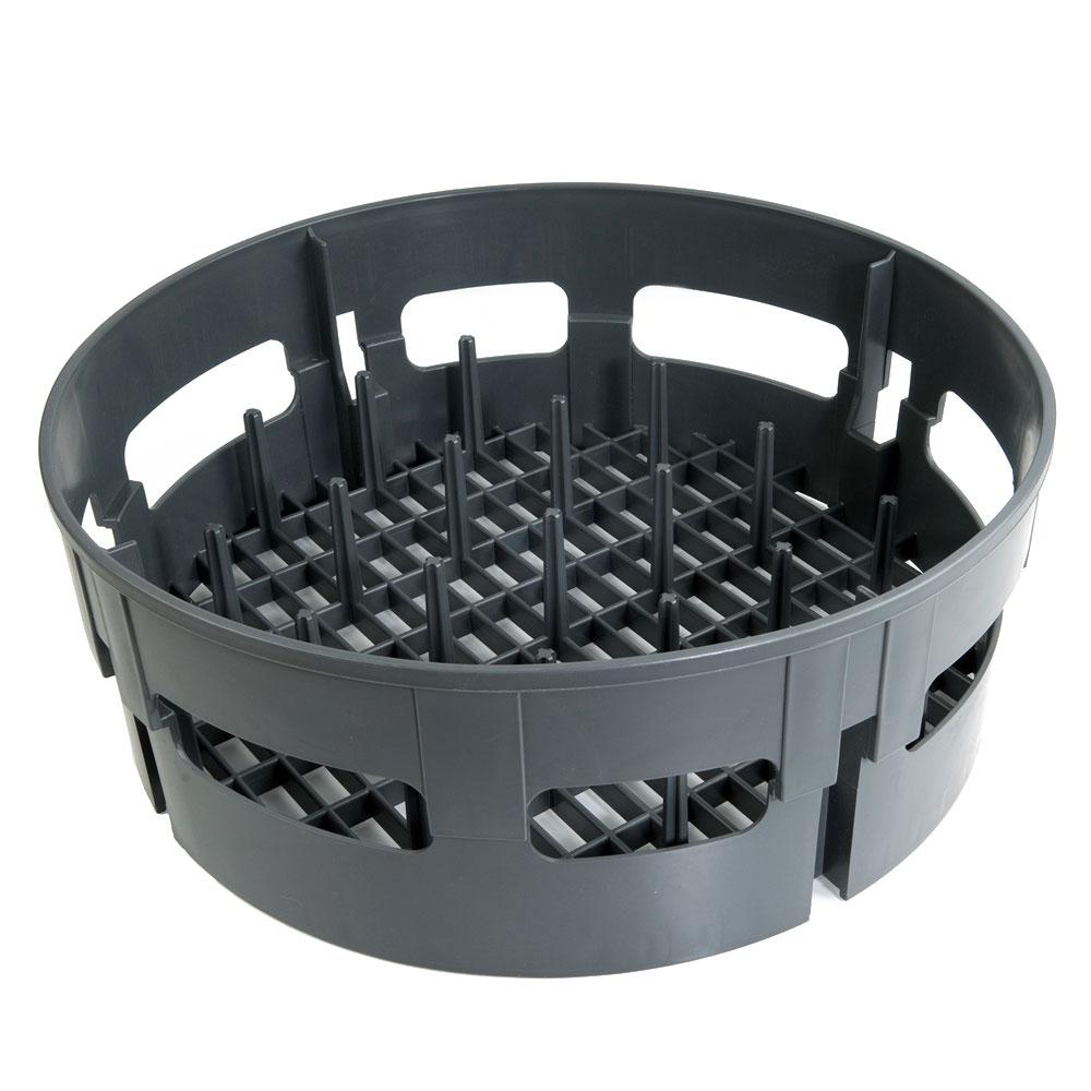 """Jackson 07320-100-09-01 17.5"""" Round Peg Rack for Model 10 - Plastic, Gray"""