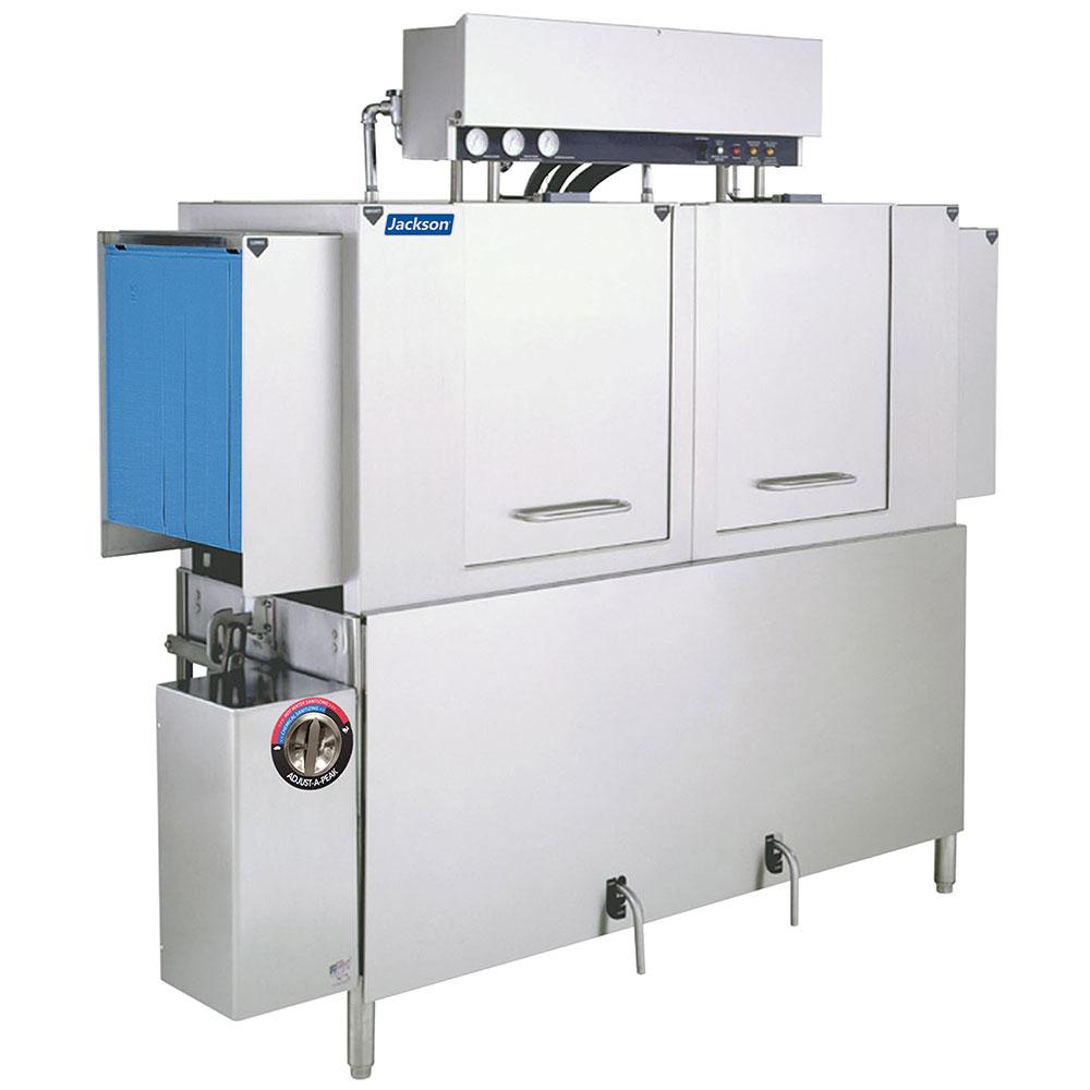 "Jackson AJ-64 80"" High Temp Conveyor Dishwasher w/ 287-Racks/Hr Capacity"
