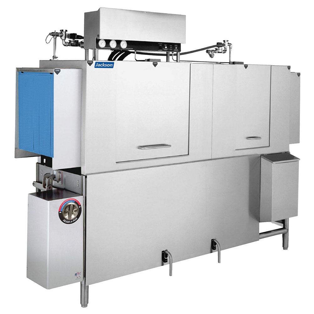 "Jackson AJ-80 96"" High Temp Conveyor Dishwasher w/ Booster Heater, 248-Racks/Hr Capacity"