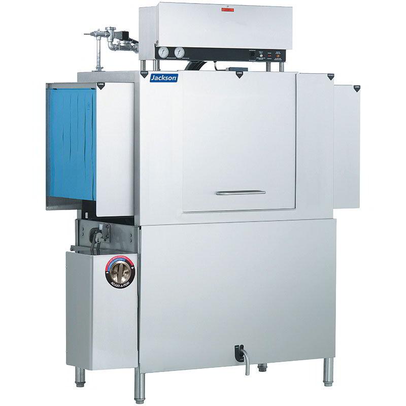 Jackson AJX54CEL 2303 High Temp Conveyor Type Dishwasher Electric Tank Heat 225-Racks Per Hour 230/3