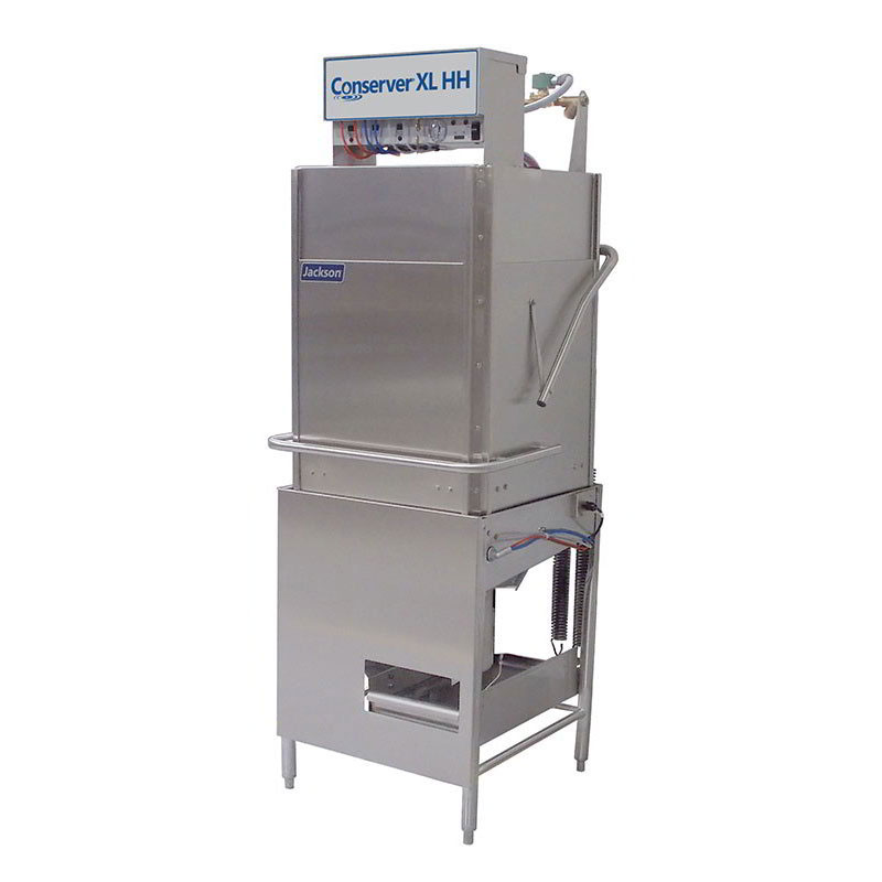 Jackson CONSERVER XL HH Electric Low Temp Door-Type Dishwasher w/ High Hood, 115v