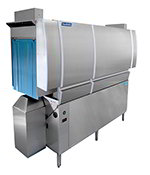 Jackson CREW-66CEL Low Temp Conveyor Dishwasher, Single Tank, 218-Racks/Hr