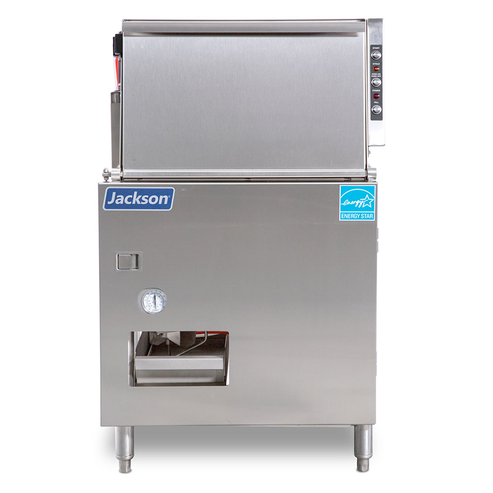 Jackson DELTA 5-E Low-Temp Underbar Glass Washer - 40-Racks/hr, 115v