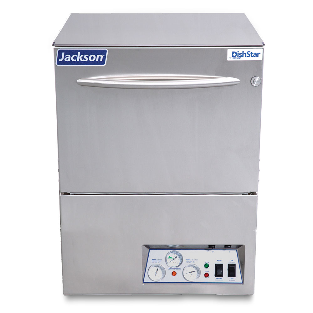 Jackson DISHSTAR HT High Temp Rack Undercounter Dishwasher - (24) Racks/hr, 208v/1ph