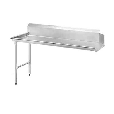 Jackson DTCS7024L 24-in Straight Clean Dishtable w/ Left Side Installation