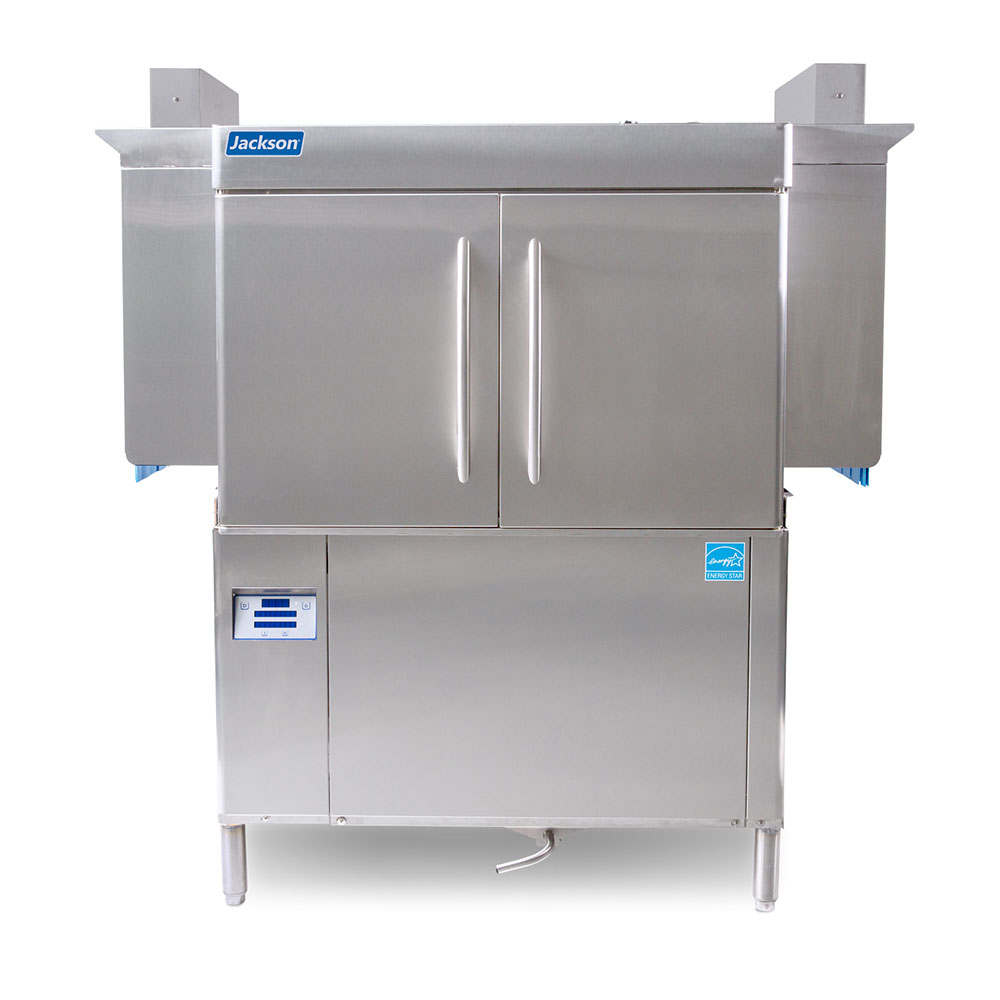 "Jackson RACKSTAR44 64"" High Temp Conveyor Dishwasher w/ Electric Tank Heat, 230v/1ph"