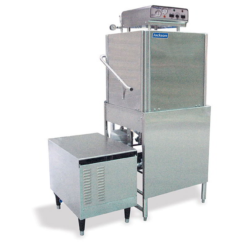 Jackson TEMPSTARGPX 2081 High Temperature Door Type Dishwasher 57-Racks/Hour, Exterior Gas Booster 208/1V
