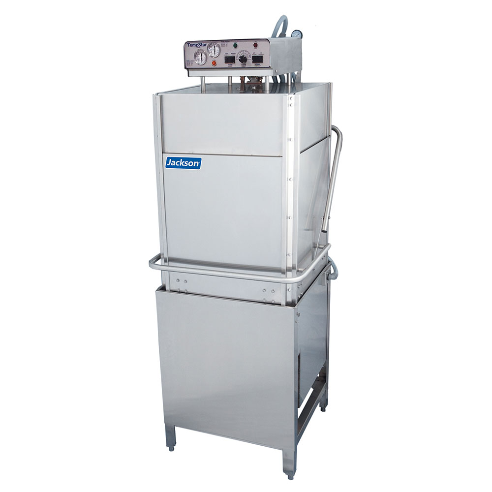 Jackson TEMPSTAR HH-E High Temperature Door Type Dishwasher w/ 53-Racks Per Hour & Heat Tank, 230/3 V