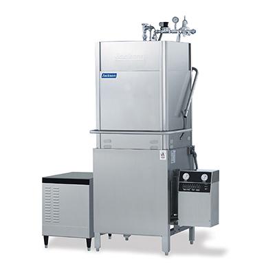 Jackson TEMPSTARHHGPX 1151 High Temperature Door Type Dishwasher 53-Racks/Hour & High Hood Stainless 115V