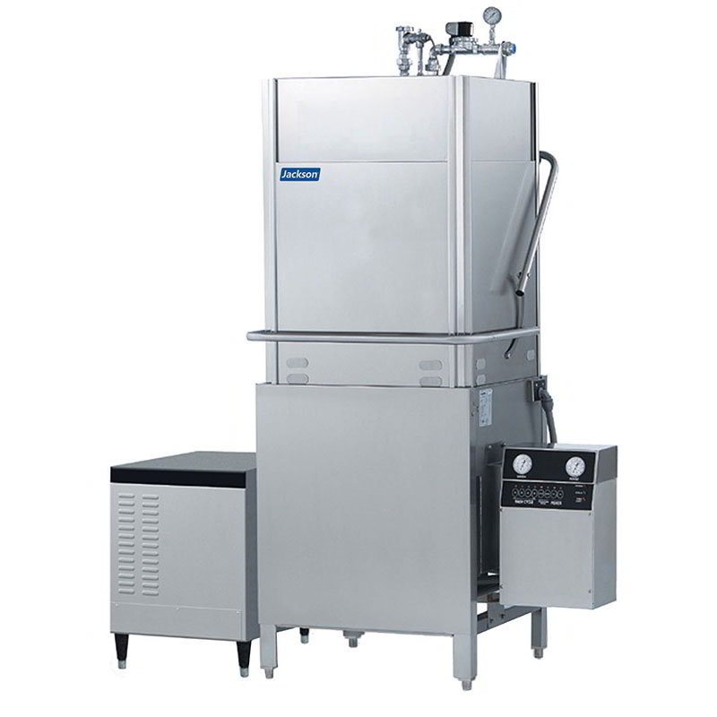 Jackson TEMPSTARHHGPX 2083 High Temperature Door Type Dishwasher 53-Racks/Hour & High Hood Stainless 208/3V