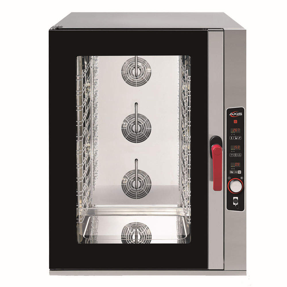 Axis AX-CL10M Full-Size Combi Oven, Boilerless, 208-240v/60/1ph