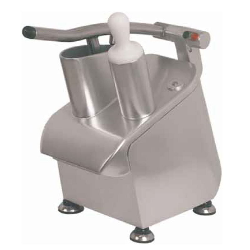 Axis EXPERT Vegetable Cutter/Processor, Cylindrical Feed Hopper, Aluminum Finish