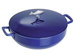 Staub 1112991 Limited Edition Bouillabaisse Pot w/ 5.75-qt, Fish Knob & Enamel Coated Cast Iron