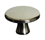 Staub 2MP1010 Staub Knob for Mini Round Cocotte & Mini Sauce Pan, Small, Nickel Plated Brass