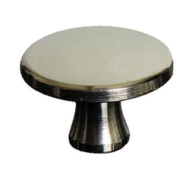 Staub 2MP1010 Staub Knob for Mini Round Cocotte & Mini Sauce Pan, Small, Nickel Plated Brass