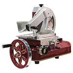 "Berkel 330M Fly Wheel Slicer, 13"" Chromium-Plated Carbon Steel Knife, No Motor"