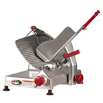 "Berkel 827A-PLUS 12"" Round Manual Slicer w/ Angled Gravity Feed & Sharpener"